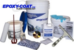 Epoxy coat garage floor paint