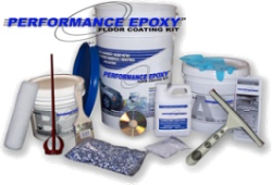 Performance Epoxy garage flooring kits