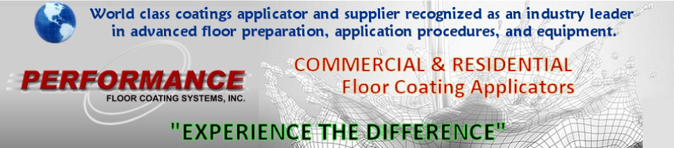 Epoxy Flooring Sales and Service